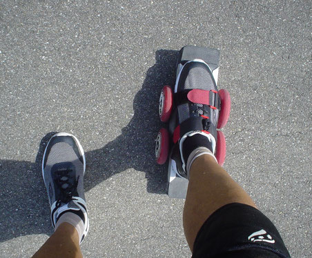 Scooter-SKATE für logisch einfache Benutzung . . . bietet 1st class souveränes Scootern - so easy !