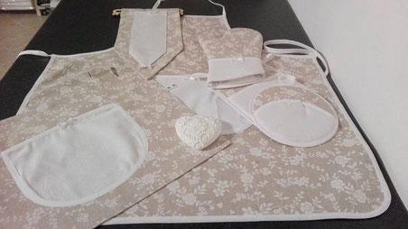 Articoli artigianali pensati, creati e prodotti da Emmelle Tessile