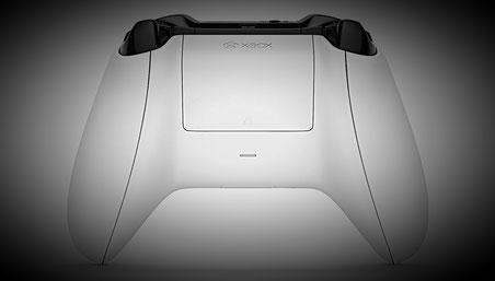 Xbox One S Controller - Die Rückseite