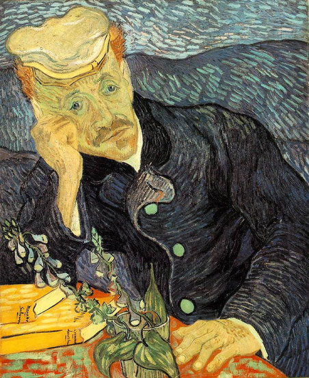 Винсент ван Гог - портрет докотра Гаше