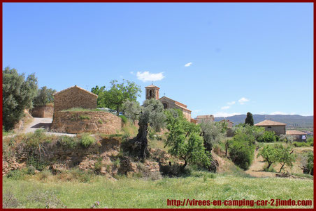 © virees en camping car Aragon Espagne