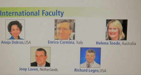 Il professore Enrico Carmina ospite d'onore al congresso internazionale di Endocrinologia Riproduttiva in India nel 2017