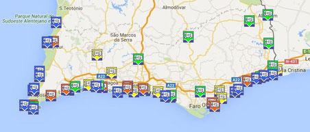 LINK: Algarve-- Stellplätze / Camping / Service-klick an!  MIT KOORDINATEN!