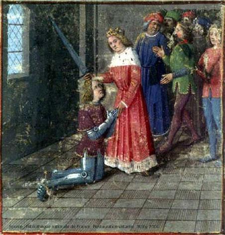 L'adoubement de Perceval.