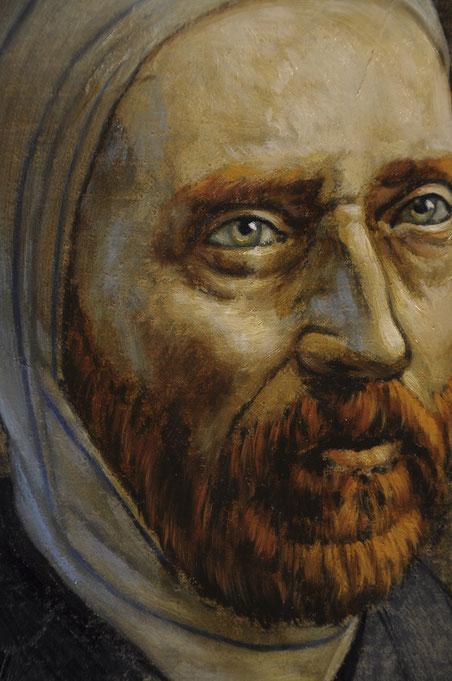 Détail Conversation avec Vincent Van Gogh