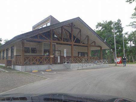 国設知床野営場管理棟