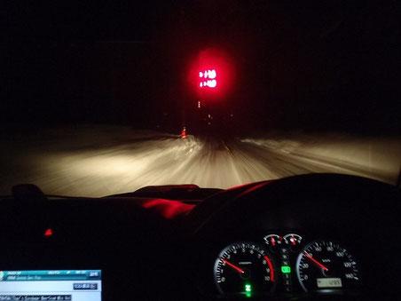 旭川のはずれで・・気温マイナス19.7度!