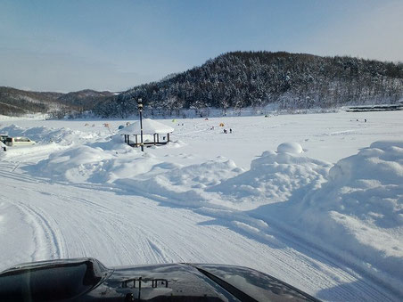 剣淵 桜岡湖