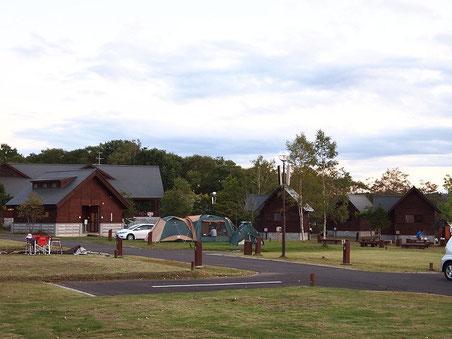 キャンプ場風景 2013年9月22日