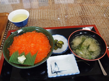 いくら丼1,000円