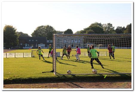 das Soccer-Ei im Training bei den Amateuren