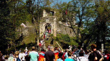 Burgenfest in Bad Berneck 2016