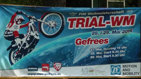 Trial WM 2016 Weltmeisterschaft in Gefrees