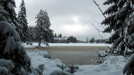 Winterparadies der Fichtelsee im Naturpark Fichtelgebirge © Copyright by Olaf Timm