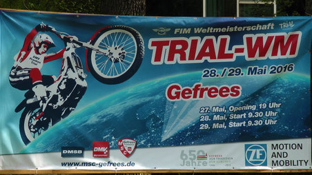 Trial WM 2016 Weltmeisterschaft in Gefrees