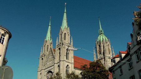 Katholische Pfarrkirche St. Paul in München © Copyright by Olaf Timm