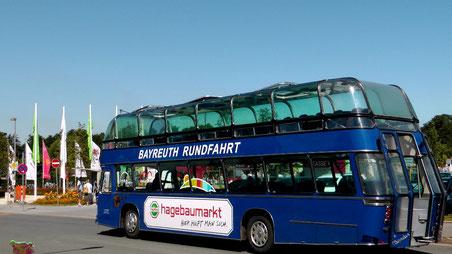Eine Rundfahrt mit dem Panorama Sightseeing-Bus