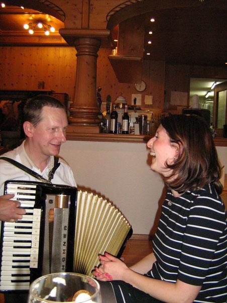 Matthias Riedel ein Musikant aus Oberfranken verzaubert seine Zuhörer