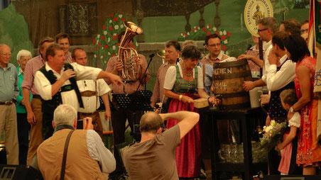 Herzlich willkommen in Bayreuth zum 105. Bayreuther Volksfest 2014 © Copyright by Olaf Timm