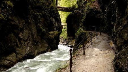 Partnachklamm bei Garmisch-Partenkirchen © Copyright by Olaf Timm