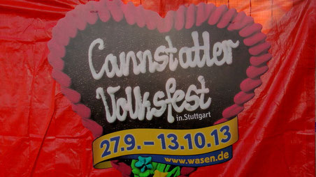 Cannstatter Wasen in Stuttgart 2013 © Copyright by Olaf Timm