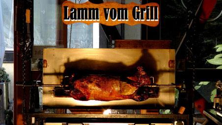 Lamm vom Grill im Gasthof Entenmühle © Copyright by Olaf Timm