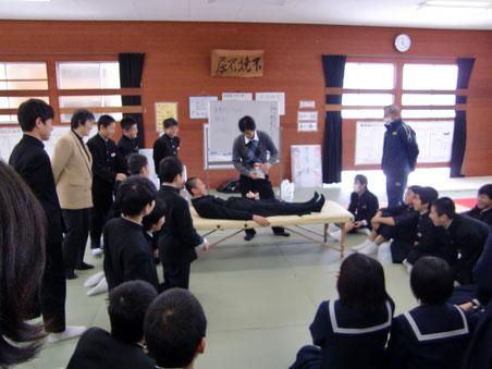 久米中学講演
