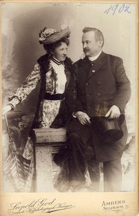 1902 Erny Rubner und Georg I