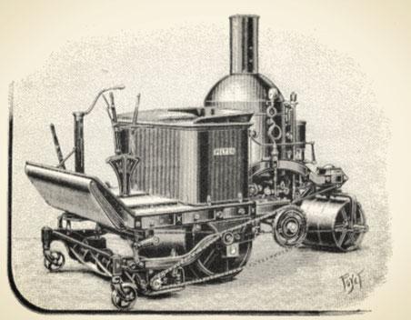 Tondeuse à vapeur  (Blog Saint-Cannat Motoculture)