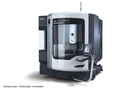 DMG DMU 65 monoBLOCK / 3D-Steuerung: Heidenhain iTNC530 HSCI