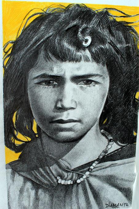 Bambina marocchina, 2002