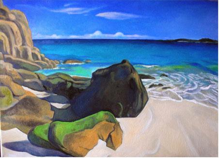 Spiaggia bretone, 2008