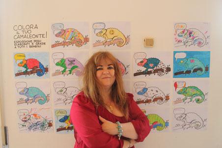 Patrizia Diamante presenta il laboratorio creativo per bambini