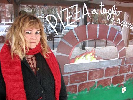 Vetrina di una pizzeria, Firenze