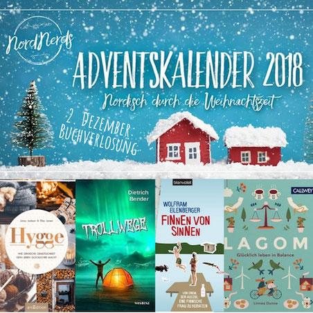 NordNerds Adventskalender 2018, Tag 2, Buchverlosung
