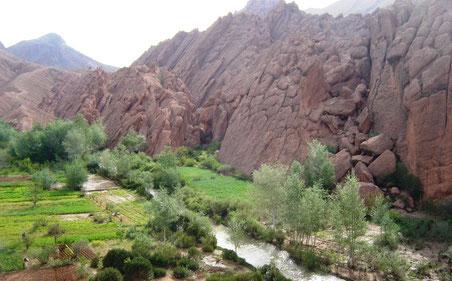 Gargantas del Dades, en la Ruta de las Kasbahs - solomarruecos