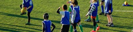 Match de rugby jeunesse