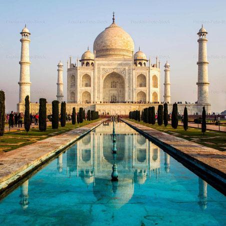 Mausoleum Taj Mahal, Agra - INDIEN