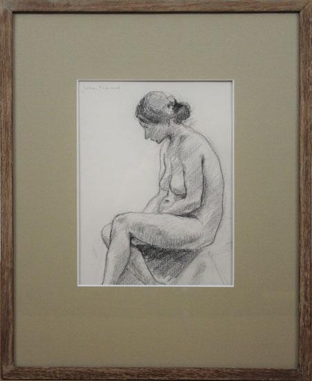 te_koop_aangeboden_een_houtskooltekening_van_de_kunstenaar_johan_fabricius_1899-1981
