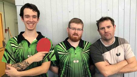 Alex, Mat et Sylvain