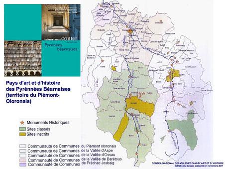 Extraits du dossier des Pyrénées Béarnaises Pays d'art et d'histoire
