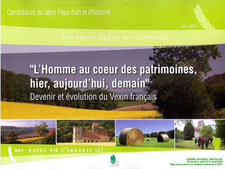 Le Parc naturel régional (PNR) du VEXIN français devient Pays d'art et d'histoire en 2014
