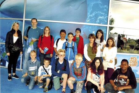 Klassenausflug nach Blankenberge (11.-12.7.2016)