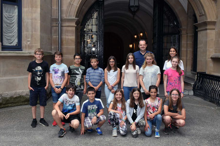 Besichtigung des Großherzoglichen Palastes (12. Juli 2018)