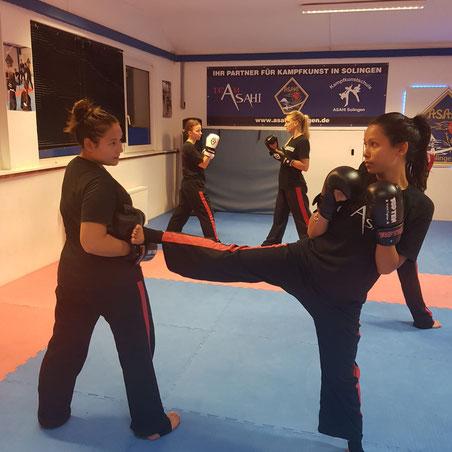 Frauen Kickboxen Solingen