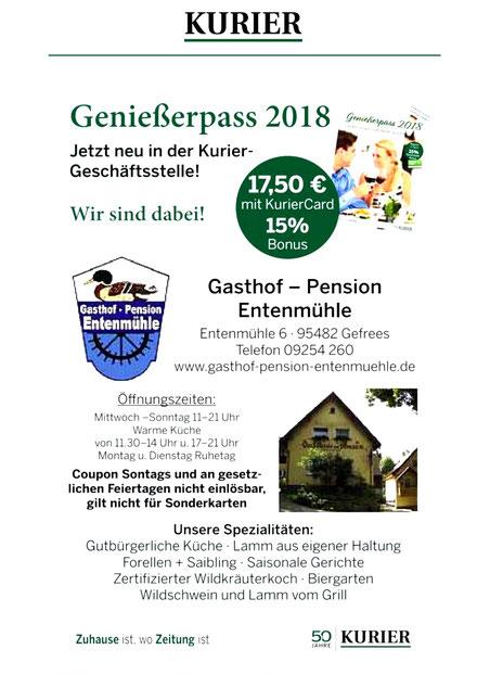 Genießerpass 2018
