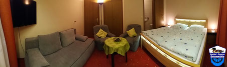 Doppelzimmer Nr. 4 mit Dusche/WC/Wlan/LED Sat-TV/Balkon