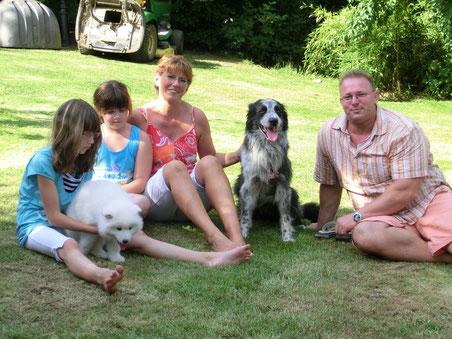 Gruppenfoto von Familie Neumann
