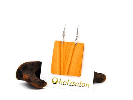 Holzohrhänger Ella Olivenholz Holzohrringe