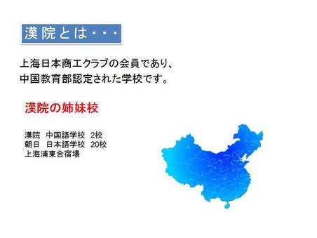 上海の中国語学校